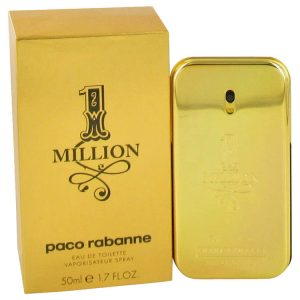1 Million by Paco Rabanne Eau De Toilette Spray 1.7 oz Men