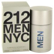212 by Carolina Herrera Eau De Toilette Spray (New Packaging) 1.7 oz Men