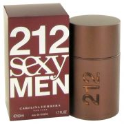 212 Sexy by Carolina Herrera Eau De Toilette Spray 1.7 oz Men