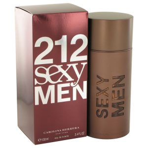 212 Sexy by Carolina Herrera Eau De Toilette Spray 3.3 oz Men