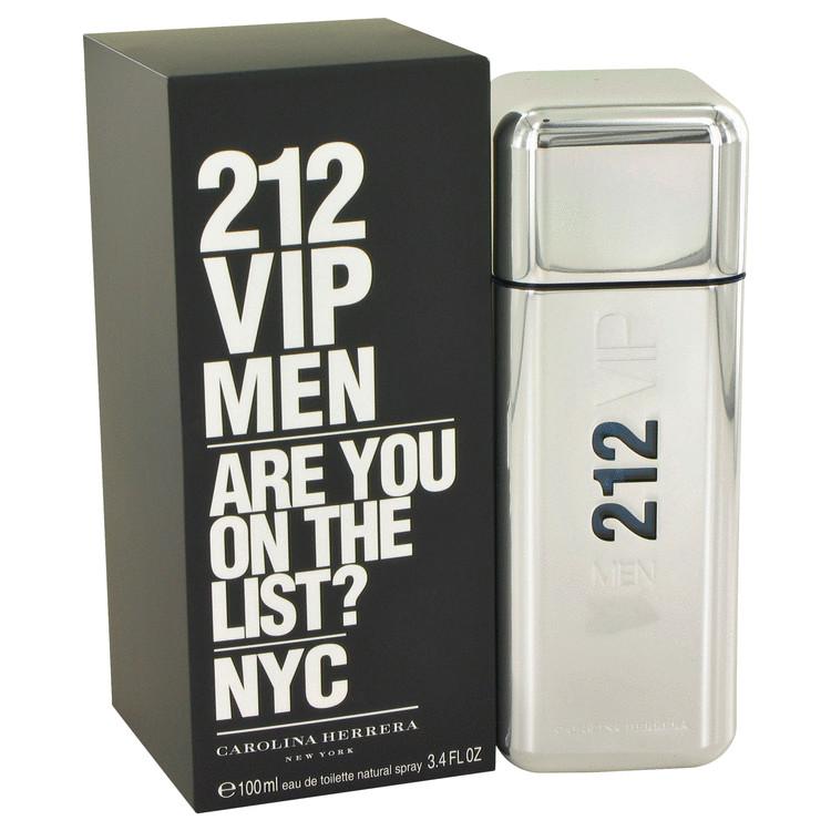 212 Vip by Carolina Herrera Eau De Toilette Spray 3.4 oz Men
