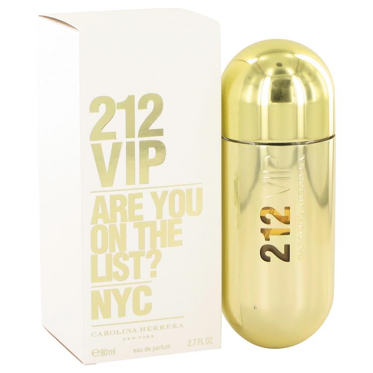 212 Vip by Carolina Herrera Eau De Parfum Spray 2.7 oz Women