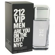 212 Vip by Carolina Herrera Eau De Toilette Spray 6.7 oz Men