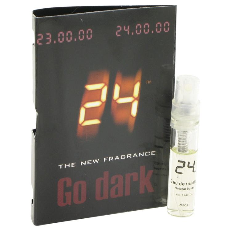 24 Go Dark The Fragrance by ScentStory Vial (sample) .04 oz Men