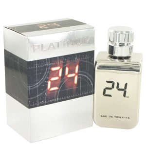 24 Platinum The Fragrance by ScentStory Eau De Toilette Spray 3.4 oz Men