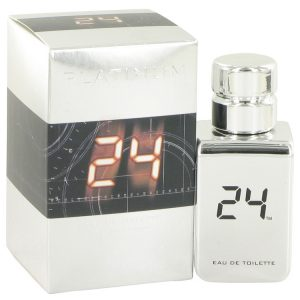 24 Platinum The Fragrance by ScentStory Eau De Toilette Spray 1 oz Men