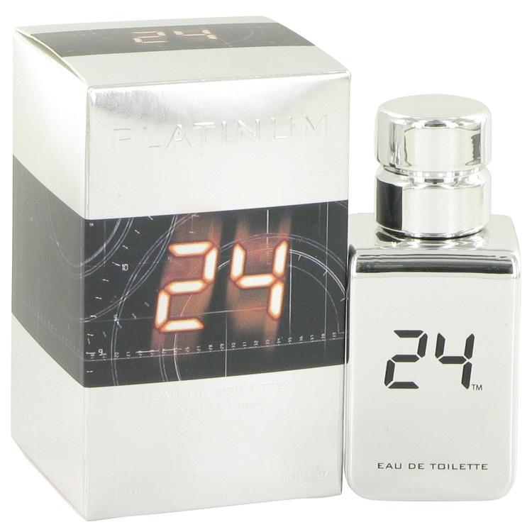 24 Platinum The Fragrance by ScentStory Eau De Toilette Spray 1 oz Men