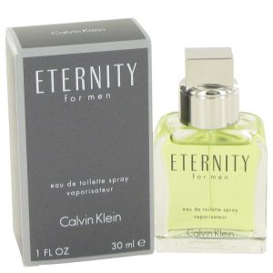 ETERNITY by Calvin Klein Eau De Toilette Spray 1 oz Men