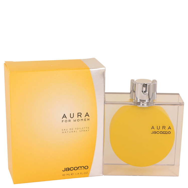 AURA by Jacomo Eau De Toilette Spray 1.4 oz Women