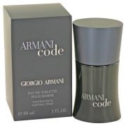 Armani Code by Giorgio Armani Eau De Toilette Spray 1 oz Men