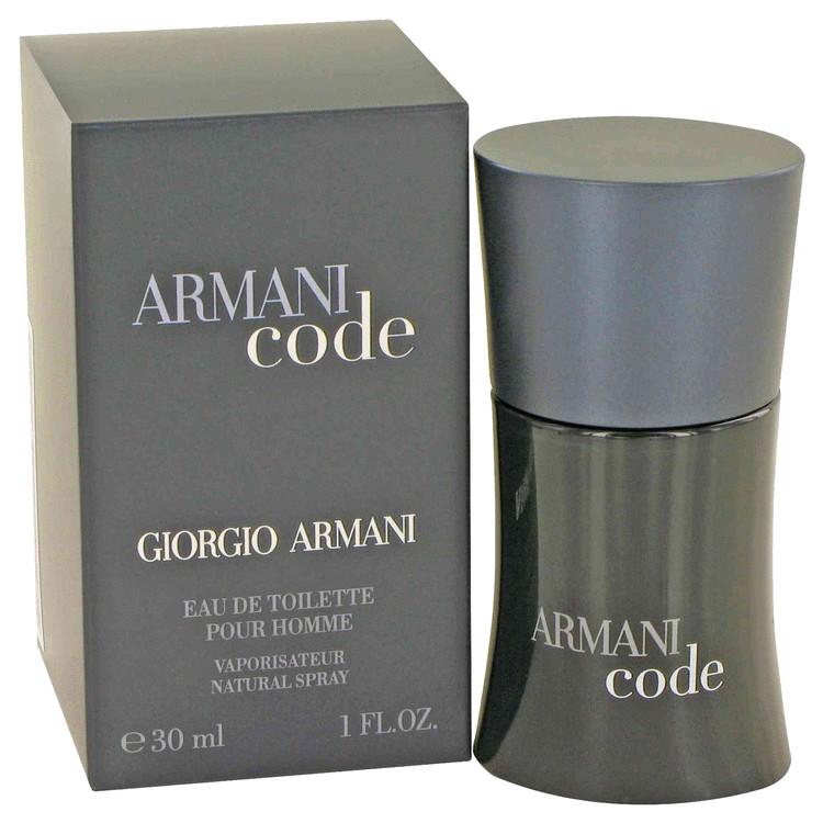 Armani Code by Giorgio Armani Eau De Toilette Spray 1 oz Men