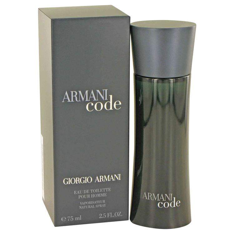 Armani Code by Giorgio Armani Eau De Toilette Spray 2.5 oz Men