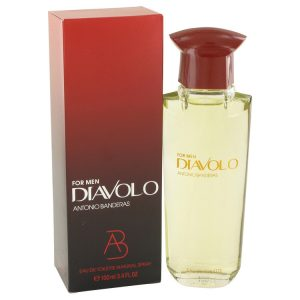 Diavolo by Antonio Banderas Eau De Toilette Spray 3.4 oz Men