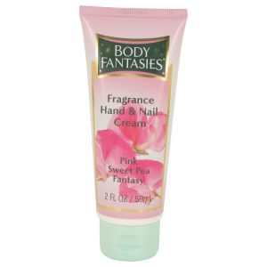 Body Fantasies Signature Pink Sweet Pea Fantasy by Parfums De Coeur Hand & Nail Cream 2 oz Women