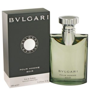 Bvlgari Pour Homme Soir by Bvlgari Eau De Toilette Spray 3.4 oz Men