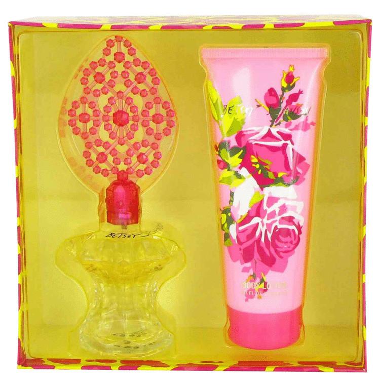 Betsey Johnson by Betsey Johnson Gift Set -- 3.4 oz Eau De Parfum Spray + 6.7 oz Body Lotion Women