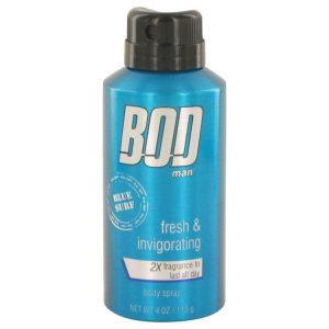 Bod Man Blue Surf by Parfums De Coeur Body spray 4 oz Men