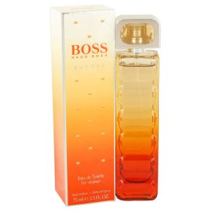 Boss Orange Sunset by Hugo Boss Eau De Toilette Spray 2.5 oz Women