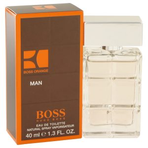 Boss Orange by Hugo Boss Eau De Toilette Spray 1.4 oz Men