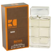 Boss Orange by Hugo Boss Eau De Toilette Spray 2 oz Men
