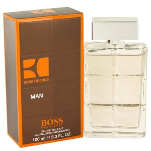 Boss Orange by Hugo Boss Eau De Toilette Spray 3.4 oz Men