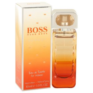 Boss Orange Sunset by Hugo Boss Eau De Toilette Spray 1 oz Women