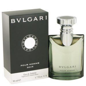 Bvlgari Pour Homme Soir by Bvlgari Eau De Toilette Spray 1.7 oz Men