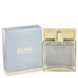 Boss Pure by Hugo Boss Eau De Toilette Spray 2.5 oz Men