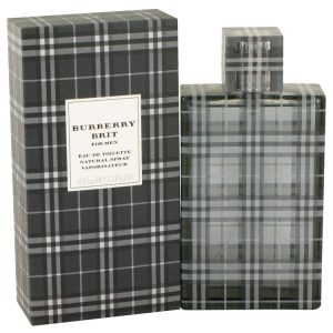 Burberry Brit by Burberry Eau De Toilette Spray 3.4 oz Men