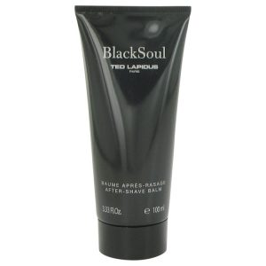 Black Soul by Ted Lapidus After Shave Balm 3.3 oz Men
