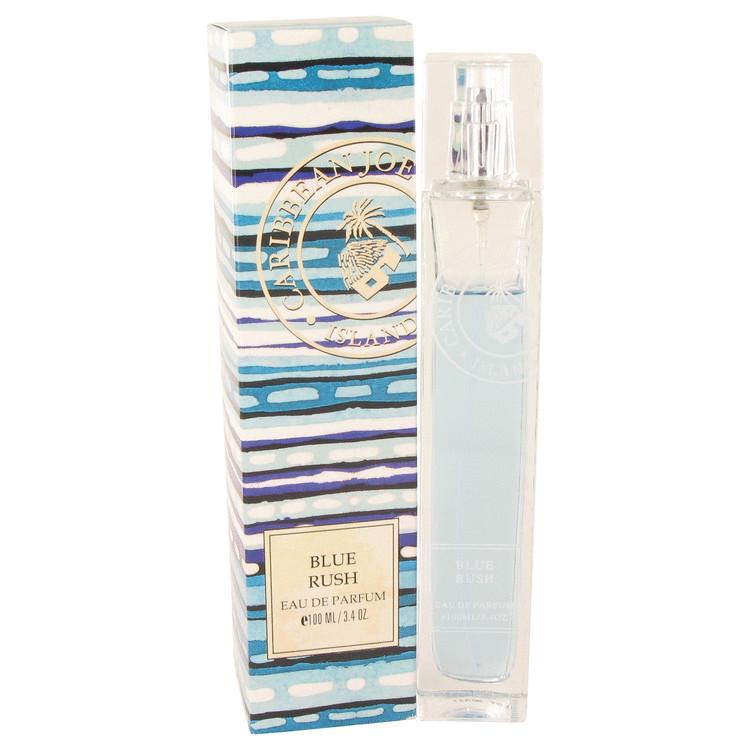 Blue Rush (Caribbean Joe) by Caribbean Joe Eau De Parfum Spray 3.4 oz Women