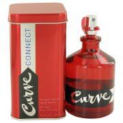 Curve Connect by Liz Claiborne Eau De Cologne Spray 4.2 oz Men