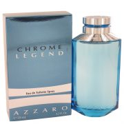 Chrome Legend by Azzaro Eau De Toilette Spray 4.2 oz Men