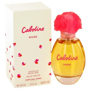 Cabotine Rose by Parfums Gres Eau De Toilette Spray 1.7 oz Women