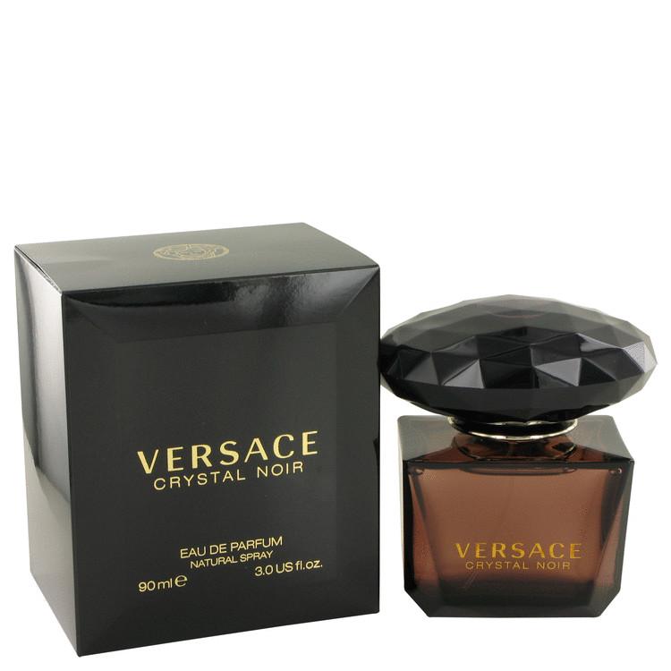 Crystal Noir by Versace Eau De Parfum Spray 3 oz Women