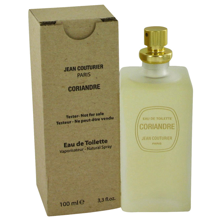 CORIANDRE by Jean Couturier Eau De Toilette Spray (Tester) 3.4 oz Women