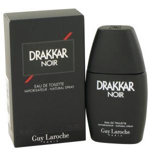 DRAKKAR NOIR by Guy Laroche Eau De Toilette Spray 1 oz Men