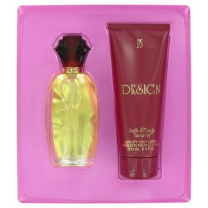 DESIGN by Paul Sebastian Gift Set -- 3.4 oz Eau De Parfum Spray + 6.7 oz Body Lotion Women