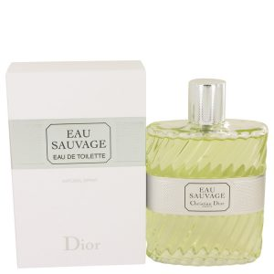 EAU SAUVAGE by Christian Dior Eau De Toilette Spray 6.8 oz Men