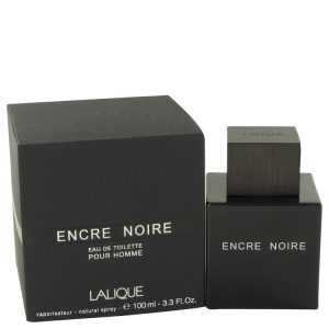 Encre Noire by Lalique Eau De Toilette Spray 3.4 oz Men