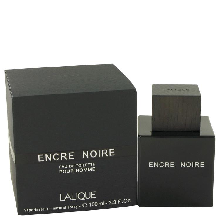 Encre Noire by Lalique Eau De Toilette Spray 3.4 oz Men