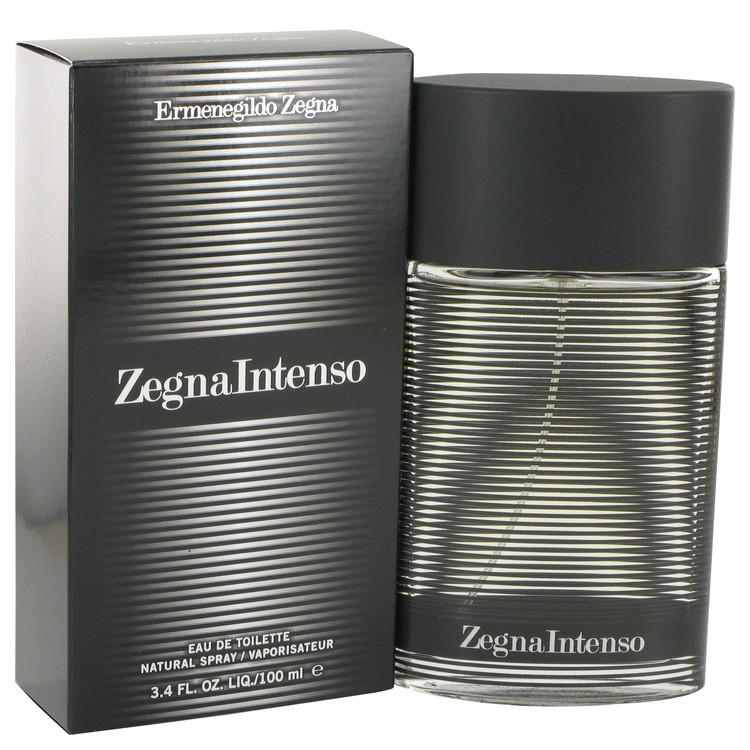 Zegna Intenso by Ermenegildo Zegna Eau De Toilette Spray 3.4 oz Men