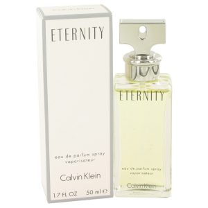 ETERNITY by Calvin Klein Eau De Parfum Spray 1.7 oz Women