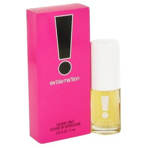 EXCLAMATION by Coty Mini Cologne Spray .375 oz Women