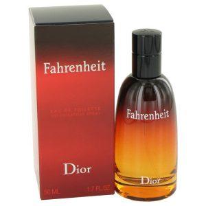 FAHRENHEIT by Christian Dior Eau De Toilette Spray 1.7 oz Men