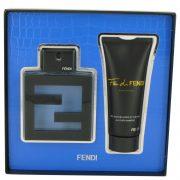 Fan Di Fendi Acqua by Fendi Gift Set -- 3.3 oz Eau De Toilette Spray + 3.3 oz All Over Shampoo Men