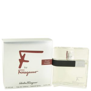F by Salvatore Ferragamo Eau De Toilette Spray 3.4 oz Men