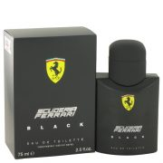 Ferrari Scuderia Black by Ferrari Eau De Toilette Spray 2.5 oz Men