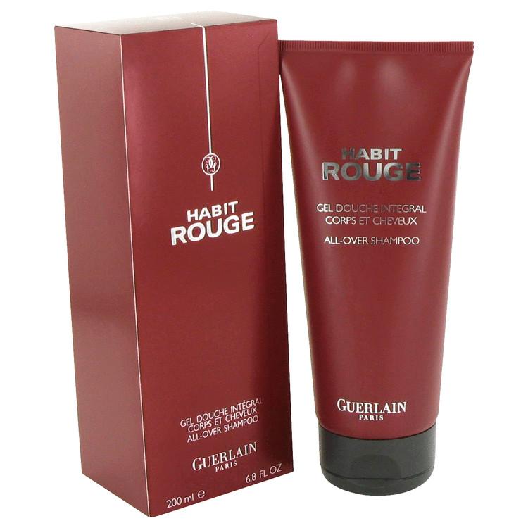 HABIT ROUGE by Guerlain Hair & Body Shower gel 6.8 oz Men