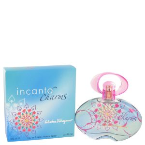 Incanto Charms by Salvatore Ferragamo Eau De Toilette Spray 3.4 oz Women